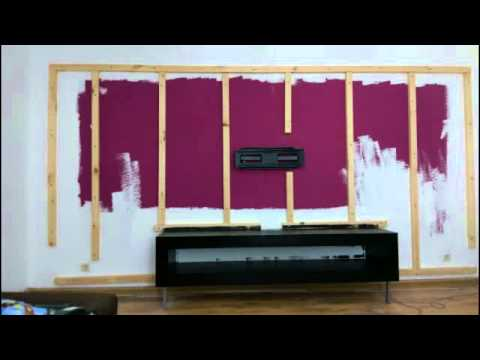 tv wand selber bauen diy girls youtube. Black Bedroom Furniture Sets. Home Design Ideas