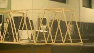 Maine East High School Balsa Wood Bridge Contest 2010