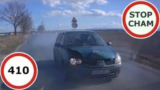 stop Cham #410 - Niebezpieczne i chamskie sytuacje na drogach