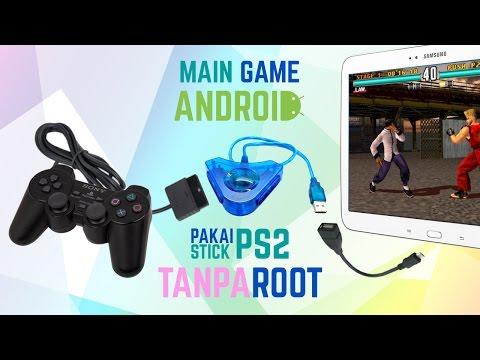 Cara Menghubungkan Stick PS2 ke Android Tanpa ROOT, Tanpa Aplikasi