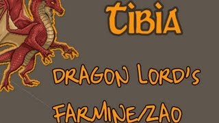 Dragon Lord Farmine/Zao - Tibia Hunts #2 [LOOT BAIXO/ALTO *SORTE*][EXP: ALTA]