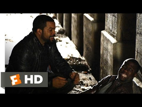 Ride Along (10/10) Movie CLIP - I Got Shot! (2014) HD