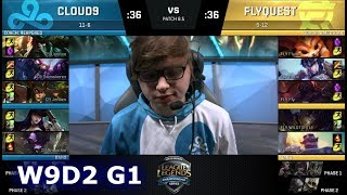 Video Cloud 9 vs FlyQuest | Week 9 Day 2 of S8 NA LCS Spring 2018 | C9 vs FLY W9D2 G1 download MP3, 3GP, MP4, WEBM, AVI, FLV Agustus 2018
