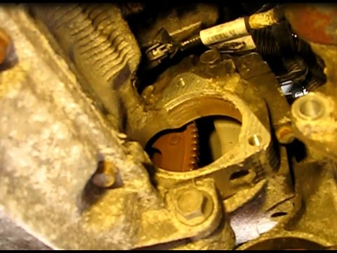 How to replace the starter on a GM 2.2L Ecotec engine in a Cobalt, Cavalier and many more