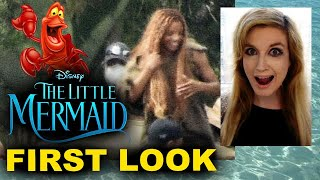 The Little Mermaid Live Action Set Photos - Halle Bailey in Costume FIRST LOOK!