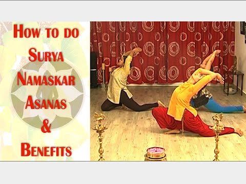 How To Do Surya Namaskar Asanas | Benefits | Beauty Spot | Vanitha TV