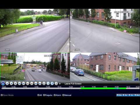 Playback and Backup  704, 708 and 716 AHD Series CCTV DVR