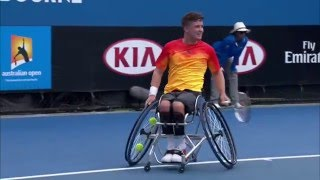 Shingo Kunieda v Gordon Reid highlights (QF) | Australian Open 2016