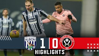 West Bromwich Albion 1-0 Sheffield United | Premier League highlights | West Brom Down Blades.