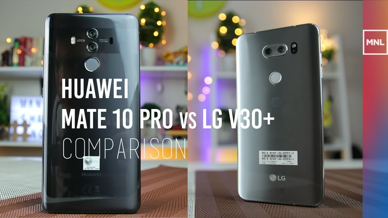 Huawei Mate 10 Pro vs LG V30+ Comparison, Camera Review
