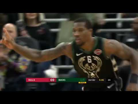 Milwaukee Bucks vs Chicago Bulls Resumen Full Del Juego Completo 16-11-2018 NBA Dominicana