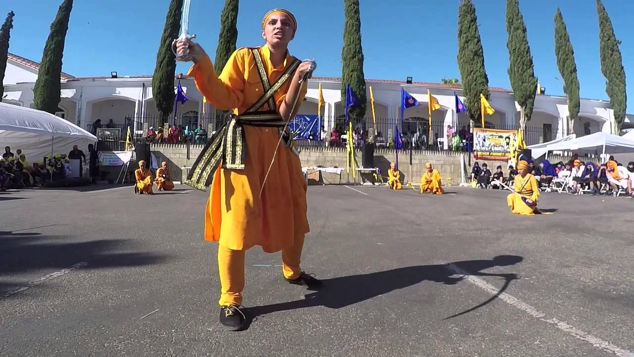Stockton Shernia - Holla Mahalla, Riverside 2015 Gatka