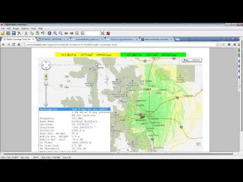 Nautel's Radio Coverage Tool In Depth Webinar Featuring Population Capability