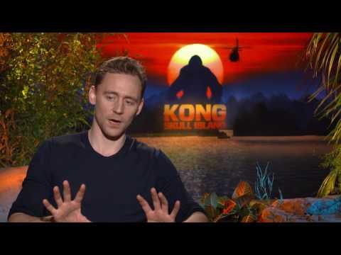 Kong: Skull Island - Tom Hiddleston interview