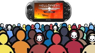 helldivers - PS Vita's Most Active Online Multiplayer Game 2019