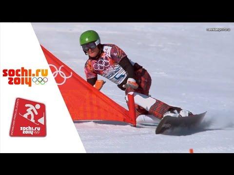 XXII Зимние Олимпийские игры.Сноуборд.Параллельный Слалом.Квалификация. Мужчины и женщины.22.02.2014. 359be01a2bd