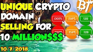 Bitcoin news cryptocurrency domain costs a fortune!|#Dailymining