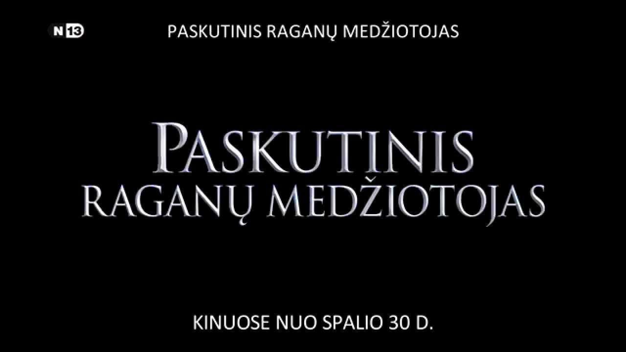 PASKUTINIS RAGANŲ MEDŽIOTOJAS - naujausias veiksmo filmas su Vin Diesel kinuose nuo spalio 30 d.