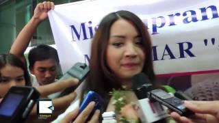 Miss Supranational Myanmar Khin Wint War Arrives Rangoon With Four Awards
