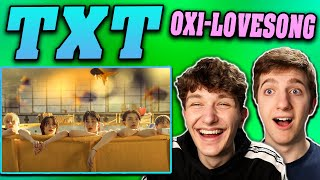 TXT - 0X1=LOVESONG (I Know I Love You) MV REACTION!! (feat. Seori)