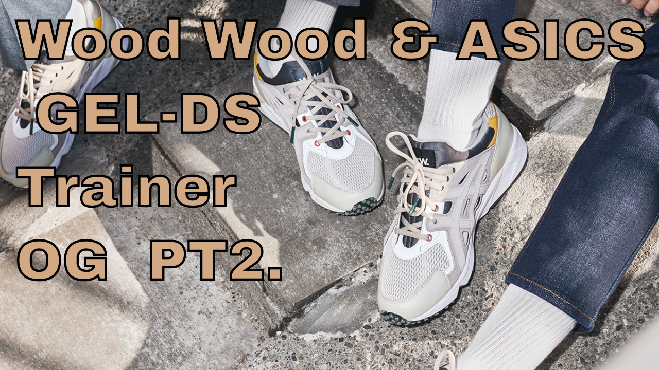 innovative design d05a0 79e59 Wood Wood   ASICS GEL-DS Trainer OG