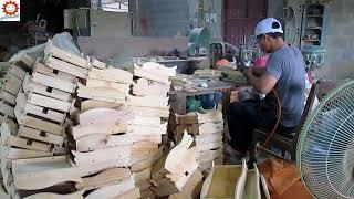 Đồ chơi gỗ sản xuất - Hộp xếp hình con vịt