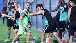 تدريب الدحيل لمواجهة نادي قطر في الاسبوع الأول من الدوري