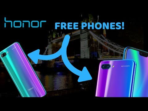 ASMR - Honor Haul (They gave me a FREE Phone)