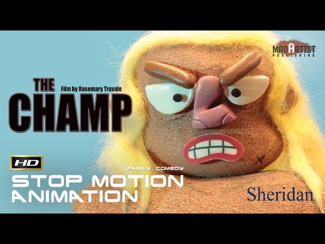 THE CHAMP | Hilarious Stop Motion Animation - Boy gets a birthday present of a lifetime (Sheridan)