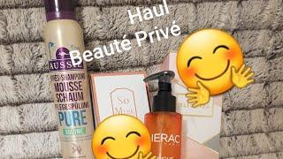 Haul Beauté Privée