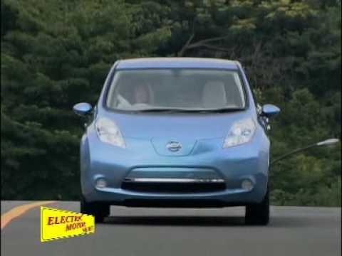 Electric Motor News N 18 2009 Nissan Leaf Youtube
