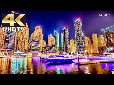 Sharp 4K Demo - World Cities in Dolby Digital 60FPS