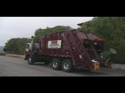 Universal Waste Systems -- Pak Mor split Rear Loader