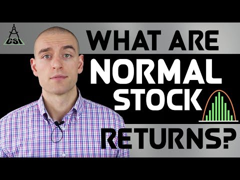 What Are Normal Stock Returns?