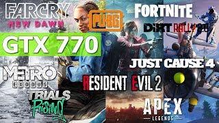 gTX 770 2GB Test in 9 Games (2019) PART 1