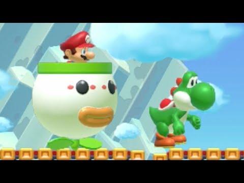 Super Mario Maker - Easy 100 Mario Challenge #1