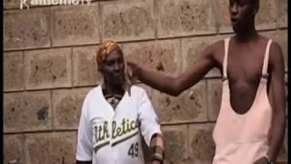 Cucu wa maka 75  kuingirira mathekania na ng'ano cia ngerekano na gacucu gake