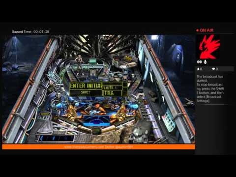 (PS4) Zen Pinball 2: Aliens - First Look