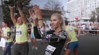Официальное промовидео Минского полумарафона 2018