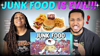 "TheOdd1sOut ""Junk Food"" REACTION!!!!"