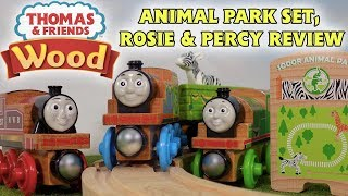 Thomas Wood Review | Animal Park Set, Percy & Rosie
