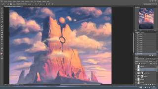 """SPEED PAINTING & free PSD - """"Space emitter"""""""