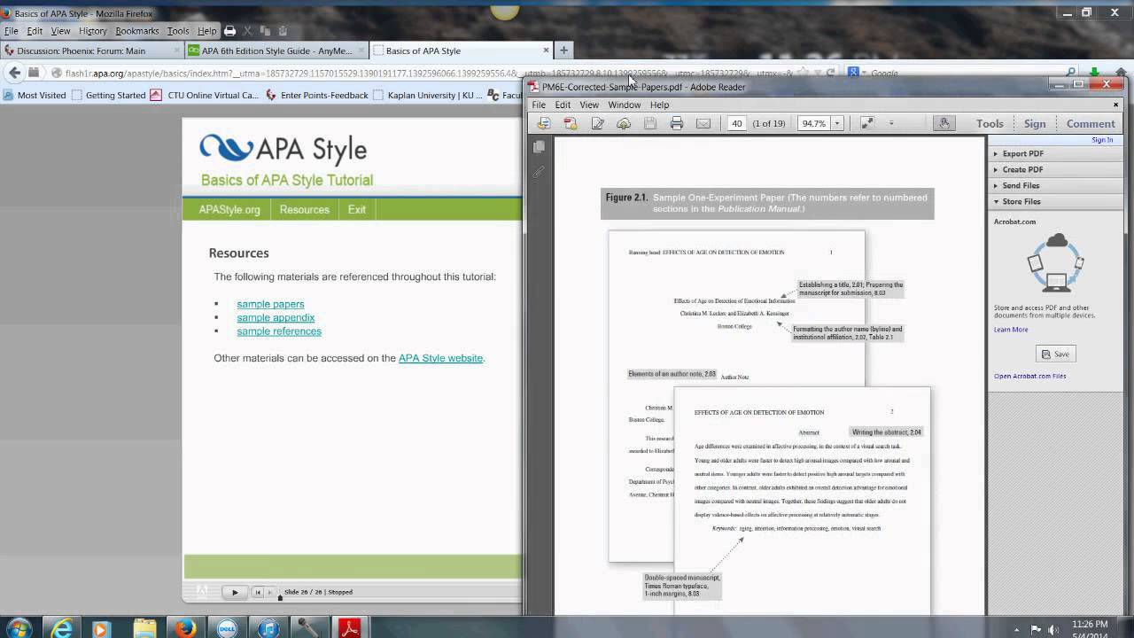 apa 6th edition style guide youtube