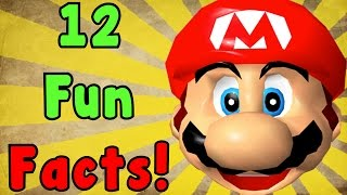 12 Fun FACTS About Super Mario 64!
