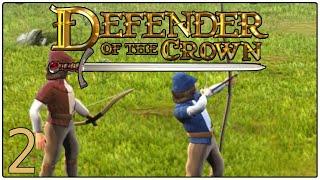 Bogenschießen-Wettkampf gegen Roger Falconbridge [#2]: DEFENDER OF THE CROWN: HEROES LIVE FOREVER