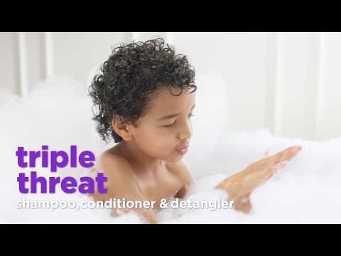 Triple Threat Shampoo, Conditioner & Detangler for Kids