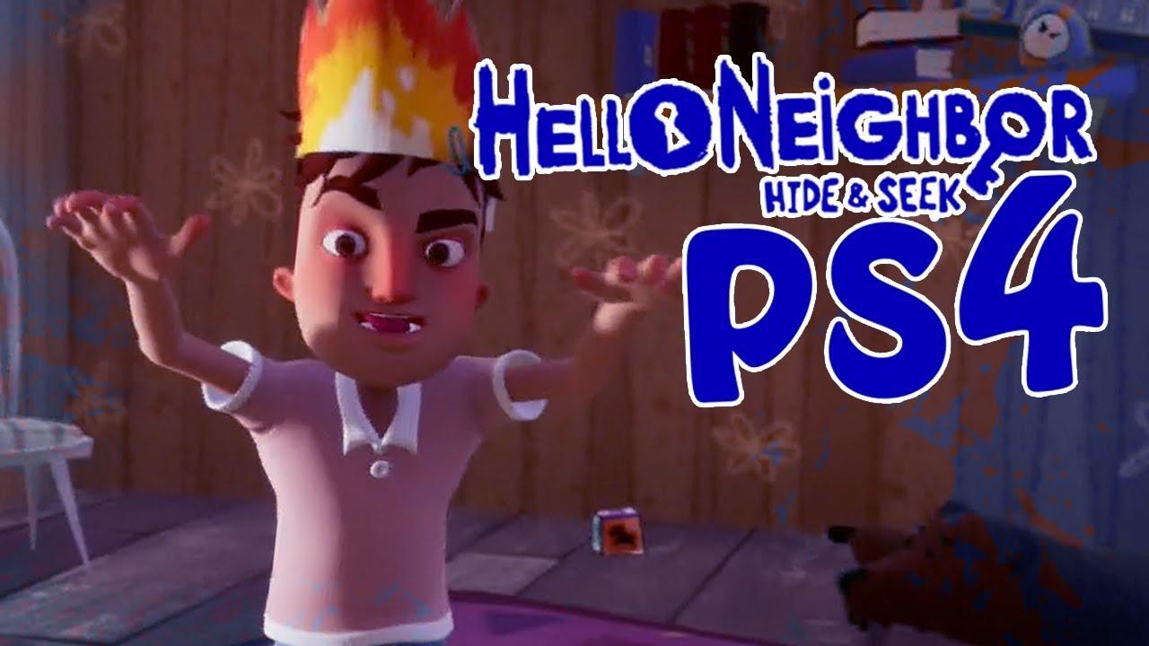 Hello Neighbor Hide Seek Ps4 Stage 3 Youtube