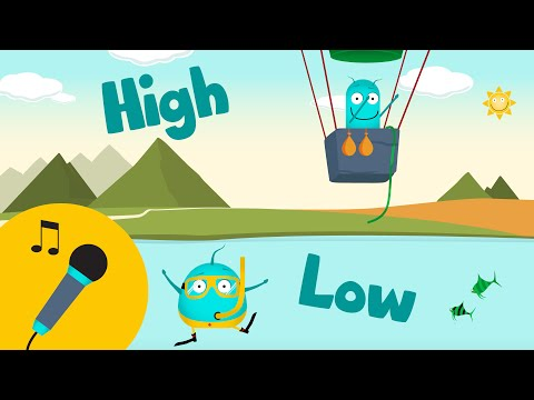 *KARAOKE HIGH LOW* | This & That | kids music | opposites songs | learning for children