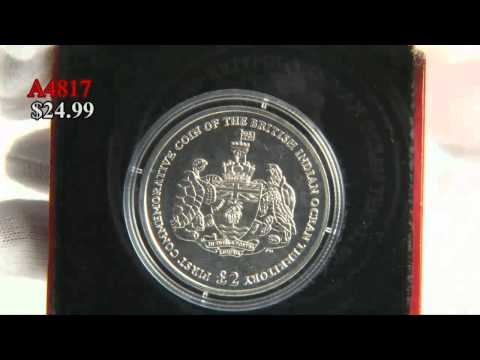 2009 British Indian Ocean Territory Nickel Commemorative Coin