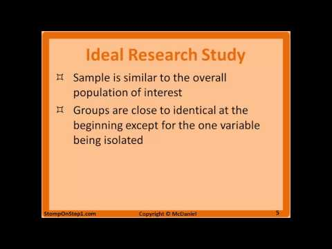 Bias & Validity Definition in Research Study Design